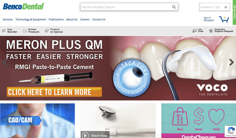 Equipment supplies and Hardware of Benco Dental