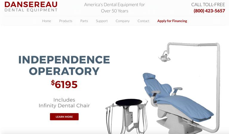 Equipment supplies and Hardware of Dansereau Dental Equipement
