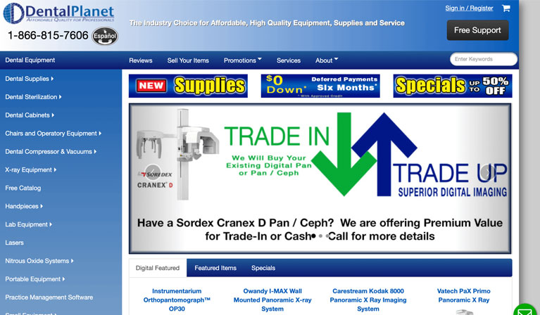 Equipment supplies and Hardware of Dental Planet